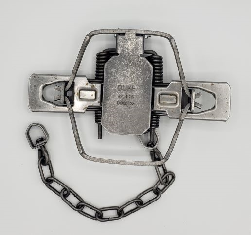 Details about  /12 Duke #2 Dogless 4 Coil Coil Spring Traps Trapping Supplies Coyote Bobcat Fox
