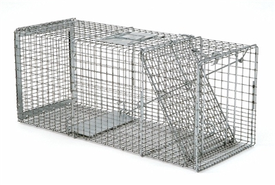 Professional Safeguard Box Trap 54130 for Raccoons, Opossums & Small Cats