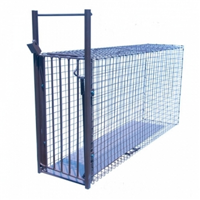 Norm Blackwell Cat Collector Cage Trap for Cats including Bobcats, as well as Grey Foxes
