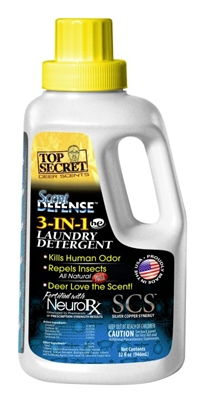 Scent Defense 3-in-1 Laundry Detergent