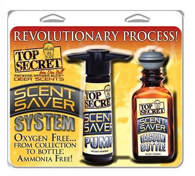 Top Secret Scent Saver System