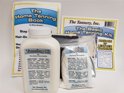The Tannery Inc | Basic Home Tanning Kit