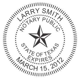texas notary seal on new improved ideal seal 1 5 8 diameter. Black Bedroom Furniture Sets. Home Design Ideas