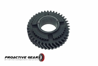T56 1st Gear, Main Shaft, 39T, 2.66 Ratio, Fits F-Body, Cobra, Viper, REM Superfinished; Part # 1386-081-007RSF