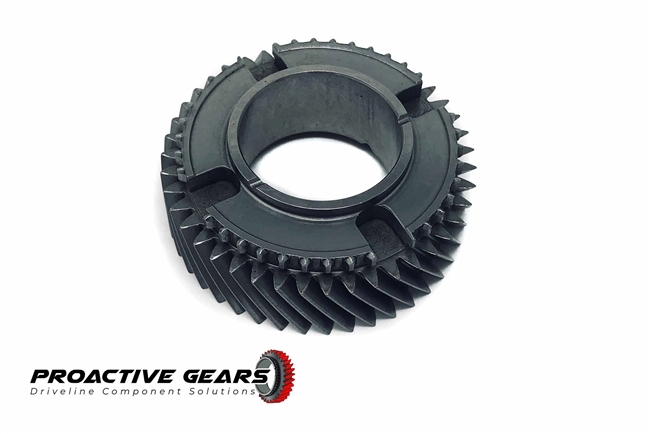 T56 2nd Gear, Main Shaft, 43T, 2.66 Ratio Fits F-Body, Viper, Cobra, REM Superfinished; Part # 1386-082-005RSF