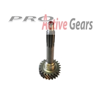 NV4500 Input Shaft, 22T, 10 splines, Dodge Gas; Part # 25354