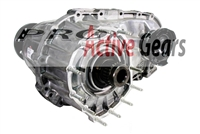 NP/NV 146J - 26 Spline External Input, Cupped Type Front Output Yoke, Rear Flange, Single Speed