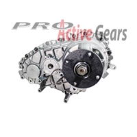 BW4411 - (Electric Shift) Front Cup Yoke, Rear Circular Flange, w/o Speedo Hole Borg Warner (Includes Shifting Motor)