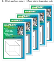 Cubic-PLOT Multipack: 10 Pads