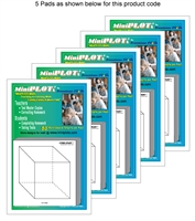 Cubic-PLOT Multipack: 5 Pads