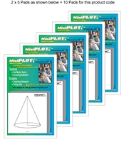 Conic-PLOT Multipack: 10 Pads