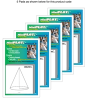 Conic-PLOT Multipack: 5 Pads