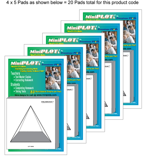 Pyramid-PLOT Multipack: 20 Pads