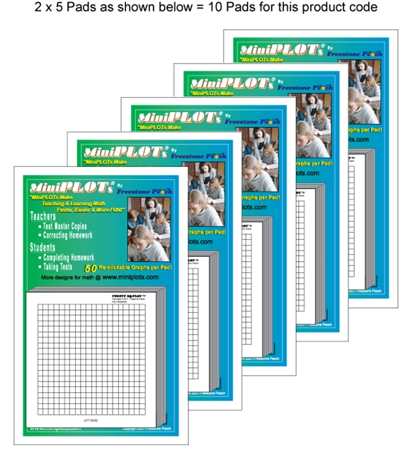Twenty Square-PLOT Multipack: 10 Pads