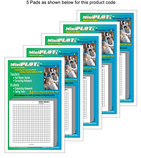 Twenty Square-PLOT Multipack: 5 Pads
