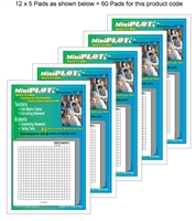 Twenty Square-PLOT Multipack: 60 Pads