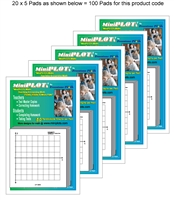 T-PLOT I Multipack: 100 Pads