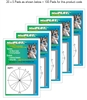 Unit Circle-PLOT Multipack: 100 Pads