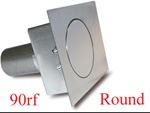 90 Series Round Flat Fuel Door