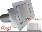 90 Series Rectangle Flat Fuel Door
