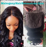 silk top lace closure