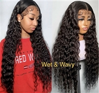 Brazilian Wavy Lace Front Wig