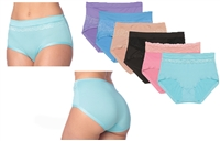 Wholesale Women's Nylon/Spandex Panties Sizes 8-10