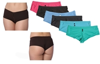Wholesale Nylon/Spandex With Buttons Panties With Size Options (36 Pack)