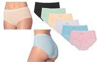 Wholesale Invisible Nylon/Spandex, Opaque/Sheer Design Panties Assorted Size (48 Pack)