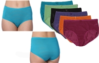 Wholesale Isadora Microfiber Wholesale Nylon/Spandex Panties With Size Option (36 Pack)