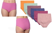 Wholesale Women's Cotton Full Cut Panties With Size Option