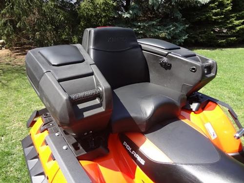 Sportsman & Sportsman XP Rear Box w/seat - Lock and Go System