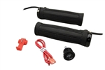 HEATED CLAMP-ON GRIP KIT WITH HIGH/LOW ROUND ROCKER SWITCH
