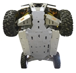 CAN-AM MAVERICK MAX X-RS 12-PIECE COMPLETE ALUMINUM SKID PLATE SET