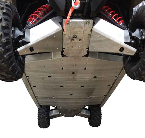 Polaris General 1000 rockslider skid plate set 2-seater