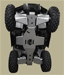 2021 POLARIS SPORTSMAN 570 TRAIL 6-PIECE COMPLETE ALUMINUM SKID PLATE SET