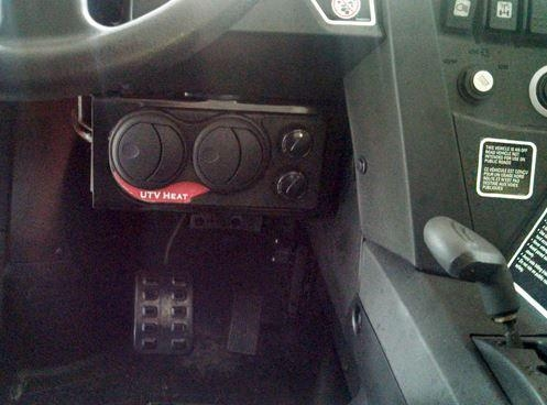 Canam Commander Amp Maverick Cab Heater