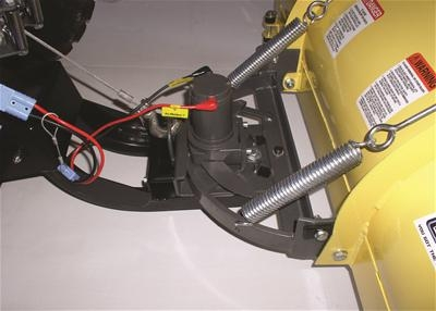 Power Turn System For Plow