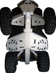 Renegade 500/800 2007-2009 Ricochet skid plate system