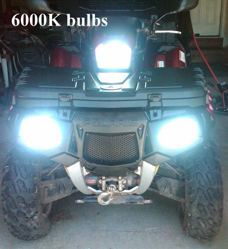FRONT LIGHT POLARIS 2002-2005