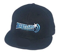 Richardson Fitted Hat with Heartland Conference Logo - Black