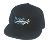 Richardson Fitted Hat with New LSC Logo - Black