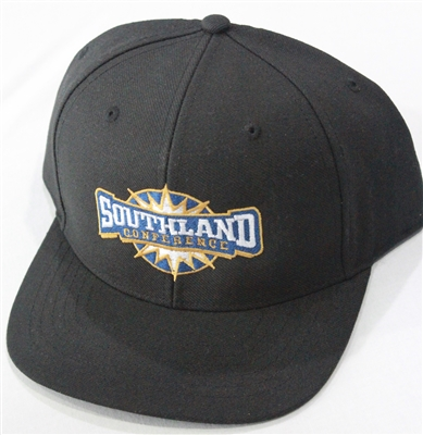Richardson Fitted Hat with Southland Logo - Black
