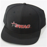 Richardson Fitted Hat with SWAC Logo - Black