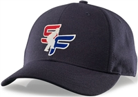 Navy Richardson Surge Fitted Umpire Hat with StrikeForce Logo