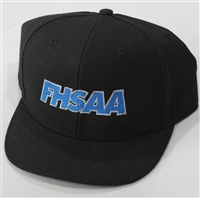 Richardson Surge Fitted Black FHSAA Umpire Hat