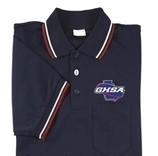 Smitty GHSA Navy Blue Embroidered Short Sleeve Umpire Shirt