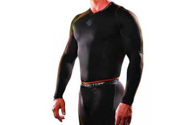 SHOCK DOCTOR SVR RECOVERY COMPRESSION LONG SLEEVE SHIRT