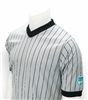 FHSAA Basketball Sublimated Smitty Gray w/Black Pinstripe V-Neck Shirt