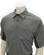 SMITTY 2016 MLB STYLE SHIRT CHARCOAL GRAY